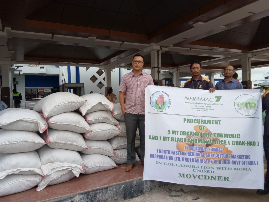 Procurement of Organic Dry Turmeric & Black Rice by NERAMAC with MOMA under MOVCDNER
