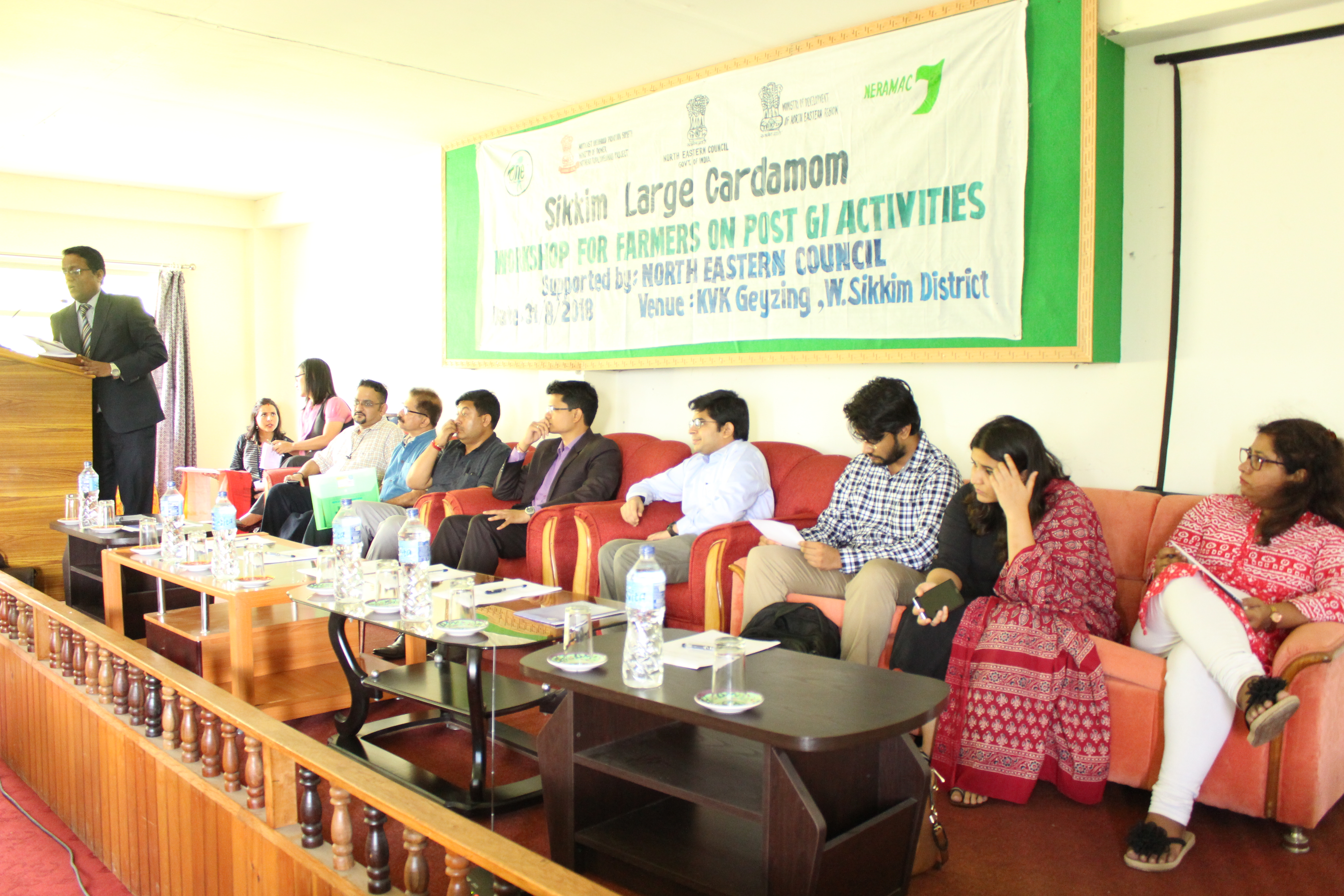 Workshop for Farmers on Post GI Activities at Sikkim for Large Cardamom