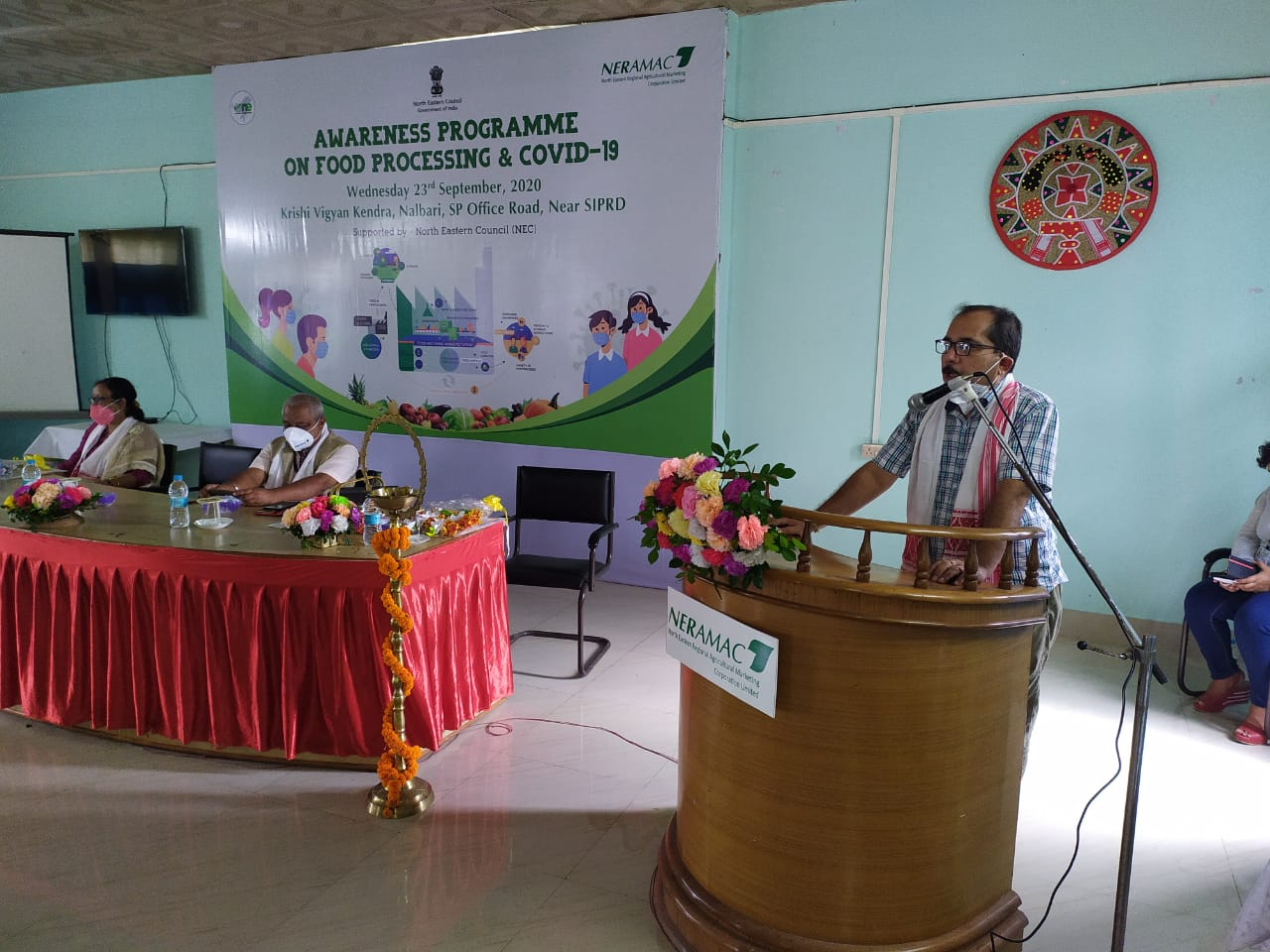 Awareness Programme on Food Processing & Covid – 19 at Nalbari