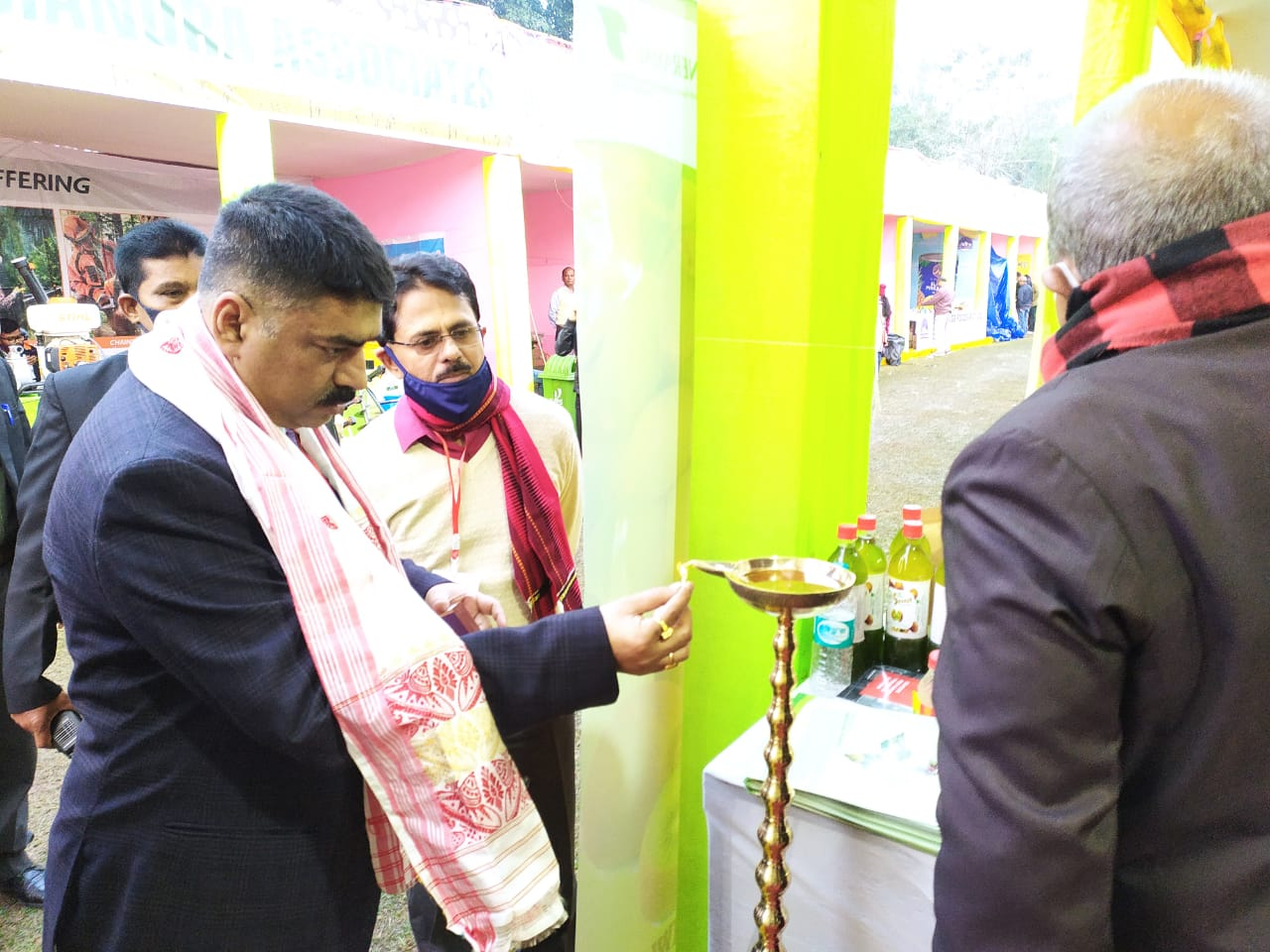 Inauguration of Two numbers of Food Processing Equipment of NERAMAC