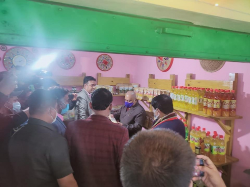 Opening Ceremony of NERAMAC's Outlets