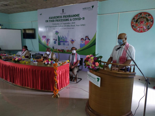 Awareness Programme on Food Processing & Covid - 19 at Nalbari